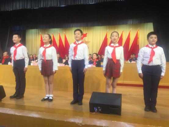 中国少年先锋队济南市第七次代表大会举行