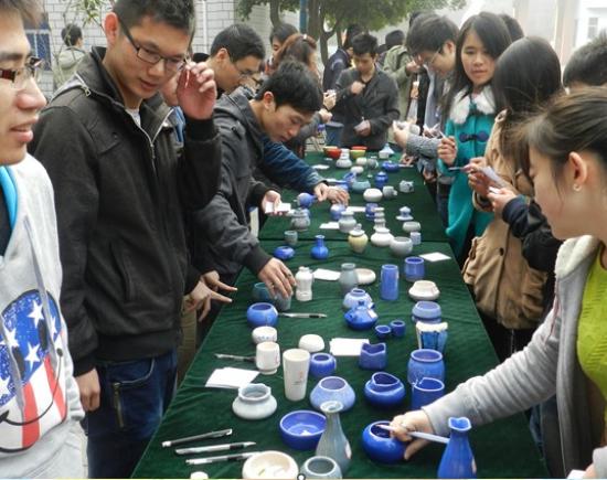 江西理工大学举办第二届专业技能(陶艺)大赛