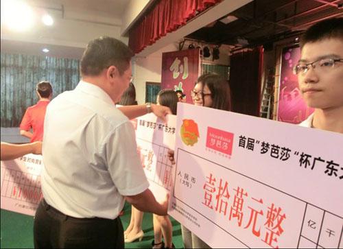 首届梦芭莎杯广东大学生时尚营销创业大赛启动