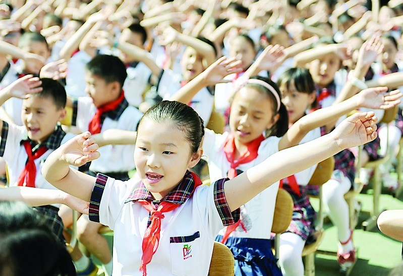"""山西省少年儿童""""六一""""共绘""""中国梦"""""""