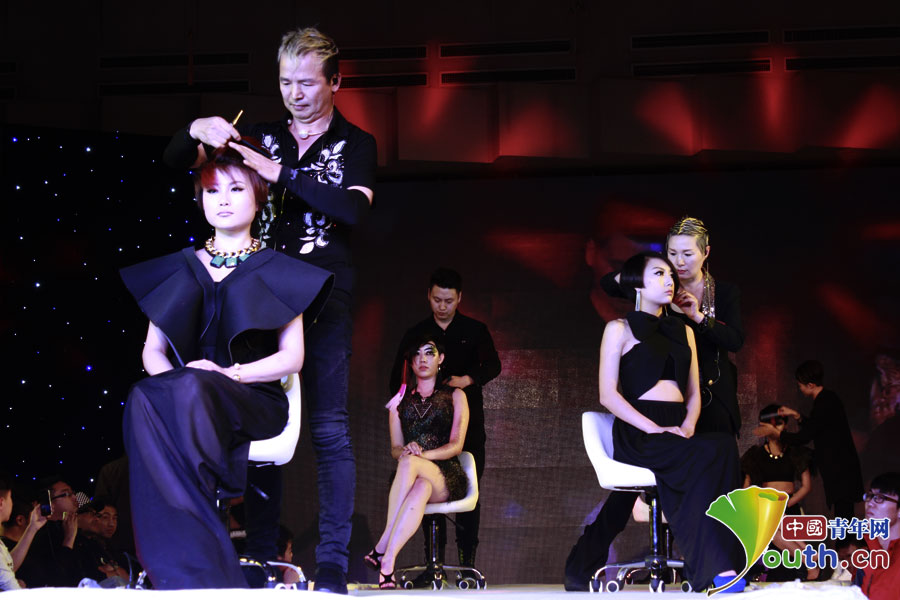 国际青年技能嘉年华 中韩美发师炫动青春大舞