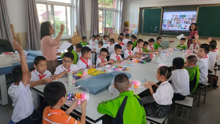 银川市青少年宫进驻中小学校开展课后志愿服务