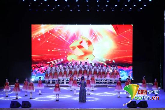 """""""济宁市庆祝中国共产党成立100周年 青少年学生主题演讲朗诵展演成功举办"""